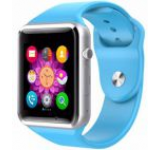 Smartwatch cu Telefon iUni A100i 1294-2, BT, LCD Capacitive touchscreen 1.54 Inch, Camera (Albastru)