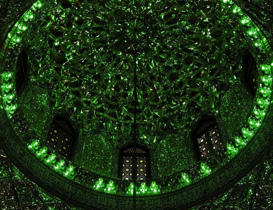 Shah Cheragh: Frumusetea orbitoare a unei moschei - Poza 10