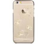 Protectie spate Comma Crystal Flora Cristale Swarovski CMCRYSFL360IPH6CG pentru Apple iPhone 6/6S (Auriu)