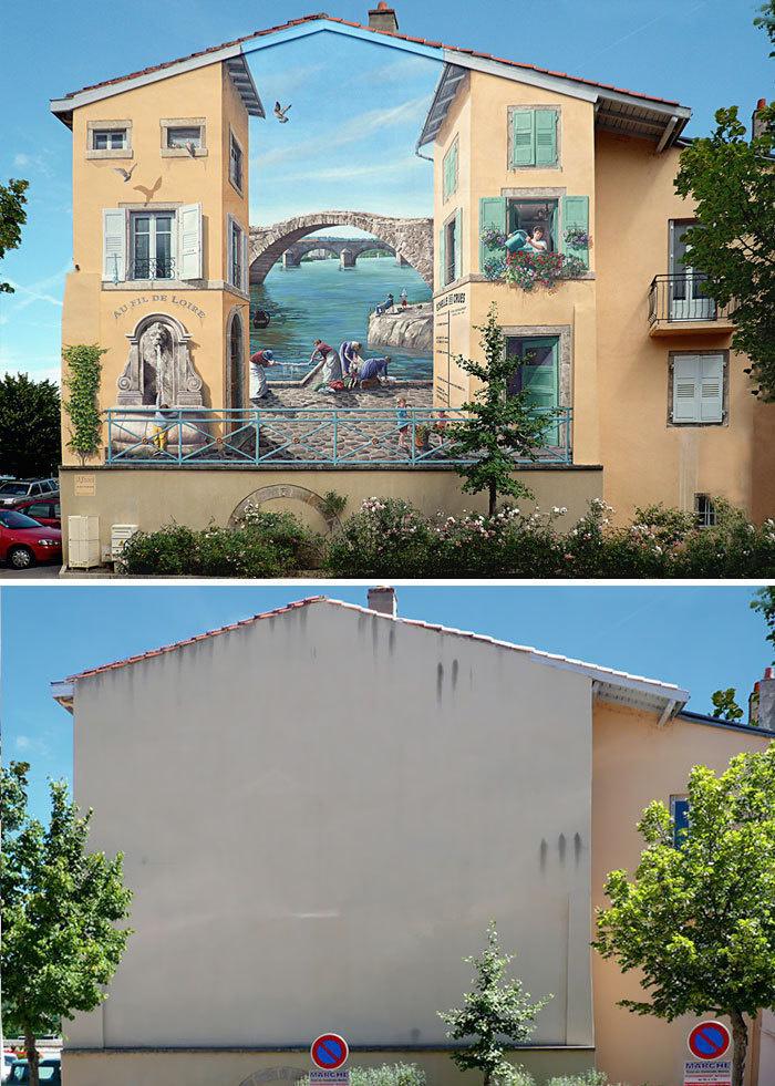 Arta stradala: Cele mai frumoase picturi pe cladiri - Poza 6
