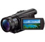 Camera Video Sony AX100, Filmare 4K, Zoom optic 12x, Stabilizare optica de imagine (Negru)
