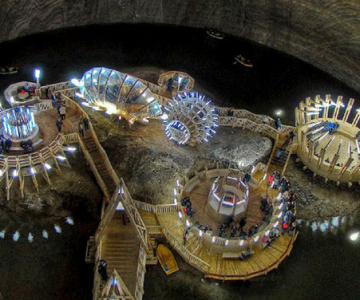 Salina Turda, cel mai mare muzeu al sarii din lume