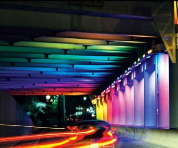 Pasaje subterane in culorile curcubeului - Texas, SUA
