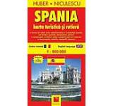 Spania. Harta turistica si rutiera