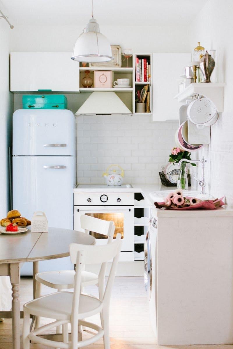 Idei geniale de amenajare a bucatariilor mici - Poza 15