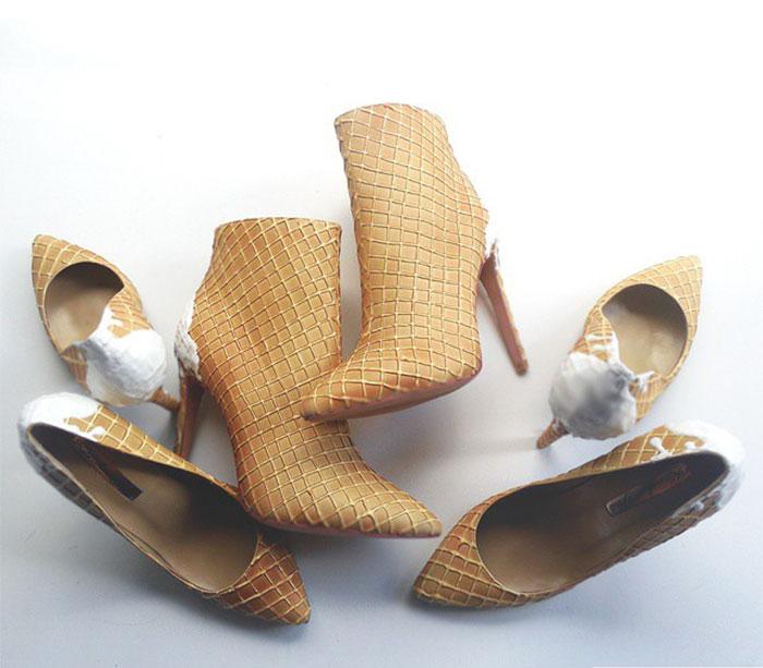 Pantofii cu aspect de prajituri, la mare moda in acest sezon - Poza 5