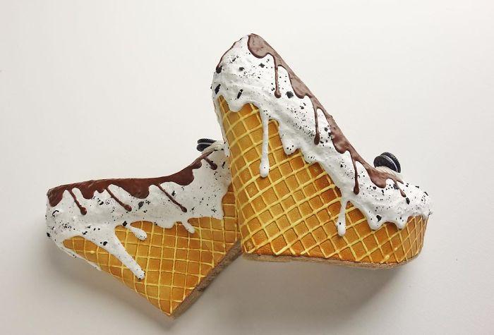Pantofii cu aspect de prajituri, la mare moda in acest sezon - Poza 8