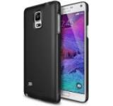 Protectie spate Ringke Slim SF 156124, folie protectie inclusa pentru Samsung Galaxy Note 4 (Negru)