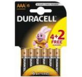 Baterie Duracell Basic AAA LR03 4+2 gratis