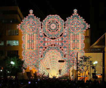 Milioane de lumini la Kobe, in Japonia