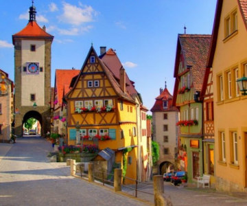 Viata la tara: Cele mai frumoase sate din lume