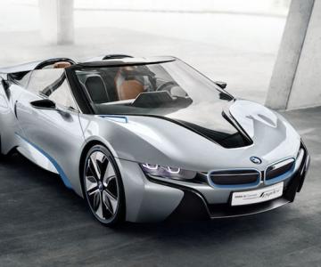 Sexy, rea si buna: Concept BMW i8 Spyder