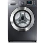 Masina de spalat Samsung Eco Bubble WF80F5E5W4X/LE, 1400 Rpm, 8Kg, Clasa A+++ (Inox)