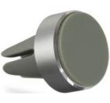 Suport auto telefon magnetic Kit HOLVENTMSL, universal, prindere de orificiul de aerisire (Argintiu)
