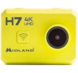 Camera Video de Actiune Midland HF7 C1236, Ultra HD, Wi-Fi, Rezistenta la apa pana la 30 m (Galben)