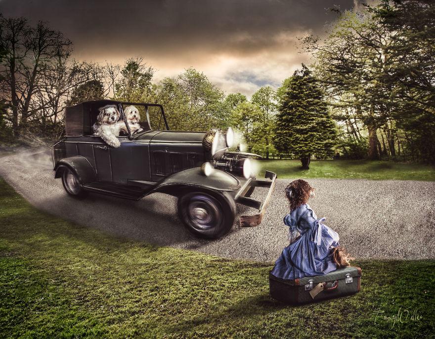 Povesti cu animalute haioase, in poze suprarealiste - Poza 9