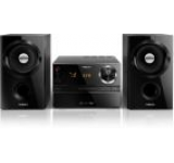 Micro sistem audio Philips MCM1350, CD/MP3 Player (Negru)