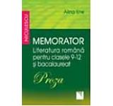Memorator. Literatura romana pentru clasele 9-12 si bacalaureat. Poza