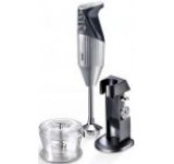 Mixer cu imersiune Bamix DeLuxe silver, 160W
