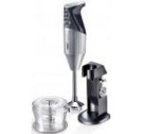 Mixer cu imersiune Bamix DeLuxe silver, 160W