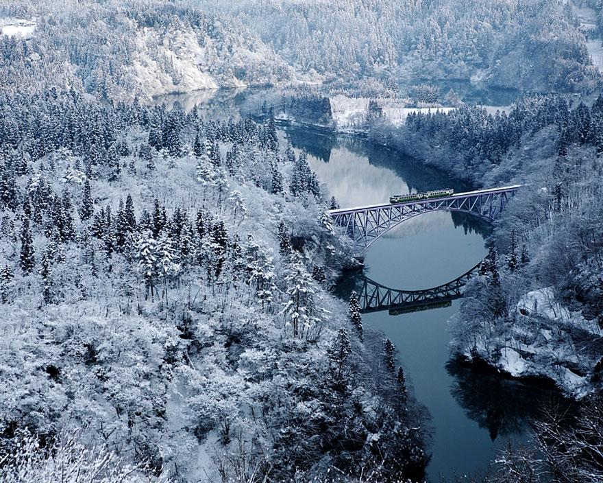 Cele mai frumoase peisaje de iarna - Poza 3
