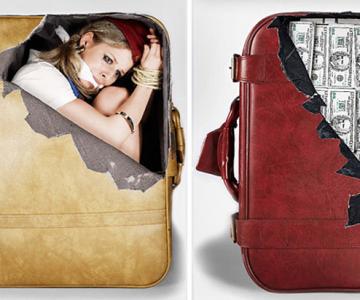 Autocolante anti-plictiseala pentru bagaje