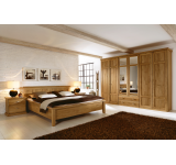 Dormitor din lemn masiv si furnir Piano
