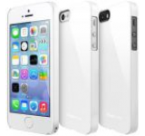 Protectie spate Ringke Slim 593390 pentru Apple iPhone 5/5S (Alb)