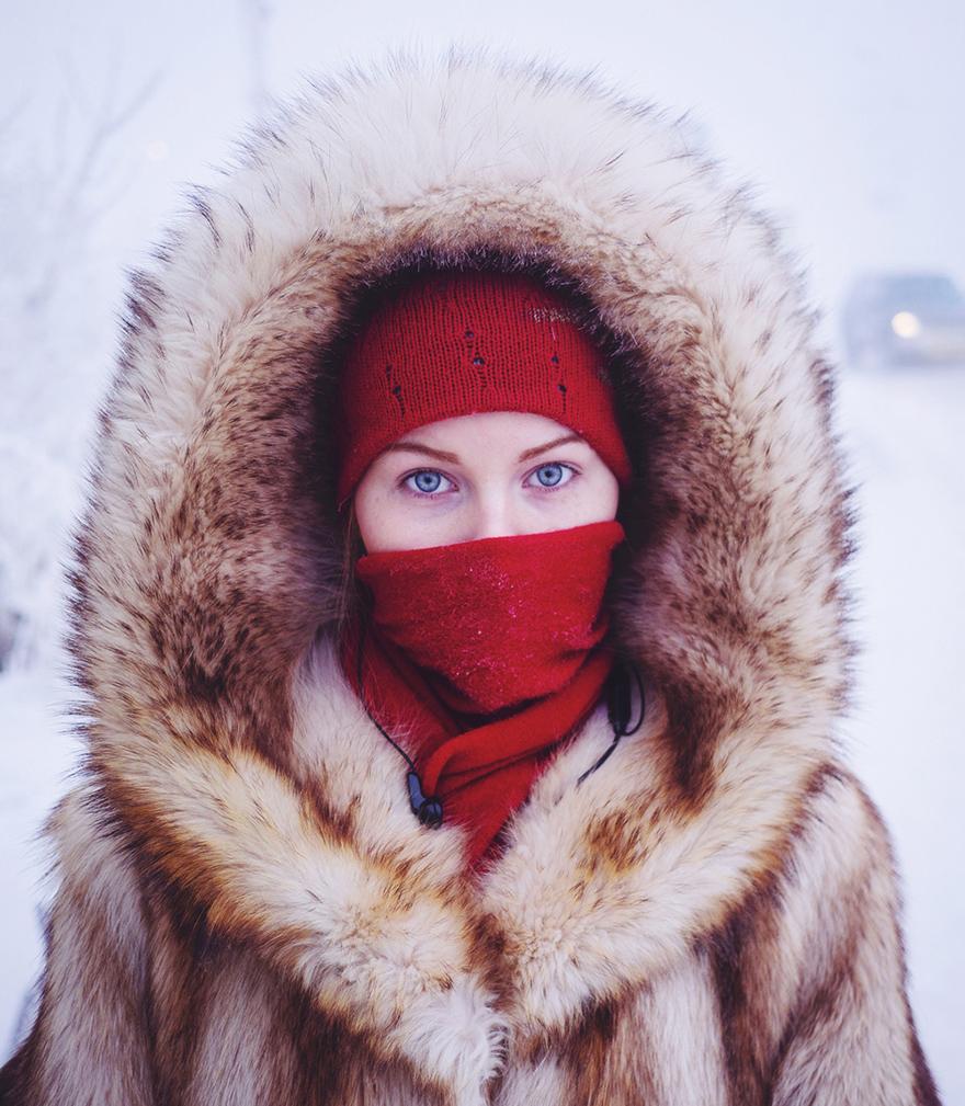 Viata la -50 de grade Celsius, in imagini sublime - Poza 5