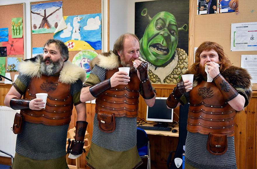 Festivalul legendar al vikingilor, in fotografii epice - Poza 14