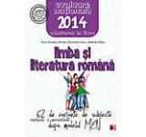 Limba si literatura romana. Evaluarea nationala 2014. 62 de variante de subiecte dupa modelul MEN. Clasa a VIII-a