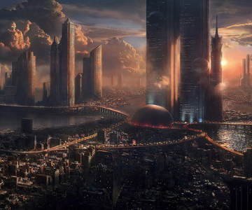 Wallpaper HD: Orasul viitorului