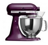 Mixer cu bol KitchenAid Artisan 5KSM150PSEBY, 4.8l, 300W (Boysenberry)