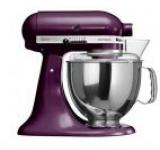 Mixer cu bol KitchenAid Artisan 5KSM150PSEBY, 4.8l, 300W (Boysenberry)