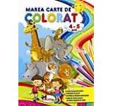 Marea carte de colorat - 4-5 ani