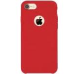 Protectie spate Just Must JMLQSIPH7RD Liquid Silicone pentru Apple iPhone 7/7S (Rosu)