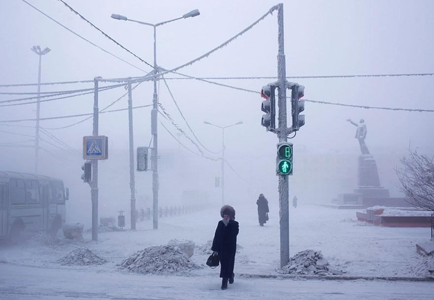 Viata la -50 de grade Celsius, in imagini sublime - Poza 3