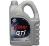 Ulei Motor Fuchs Titan GT1 Pro C-3 cu tehnologia XTL, 5W-30, Diesel/Benzina, 4L