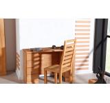 Masa de birou din lemn masiv de fag Seti natural, L115x45xh75 cm