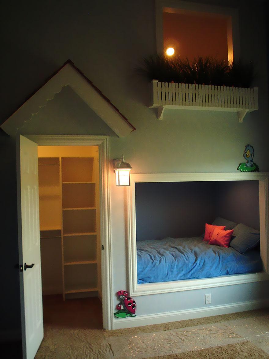 Cum sa aduci basmul in camera copilului. 15+ Idei geniale de amenajare - Poza 11