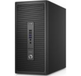 Sistem PC HP ProDesk 600 G2 MT (Procesor Intel® Core™ i3-6100 (3M Cache, 3.70 GHz), Skylake, 4GB, 1TB @7200rpm, Intel HD Graphics, Tastatura+Mouse, Win10 Pro)