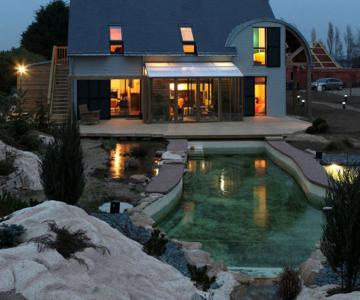 Casa traditional-bio, de Patrice Bideau