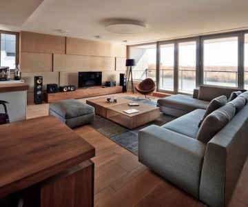 Apartament ultra-modern si natural la Bratislava