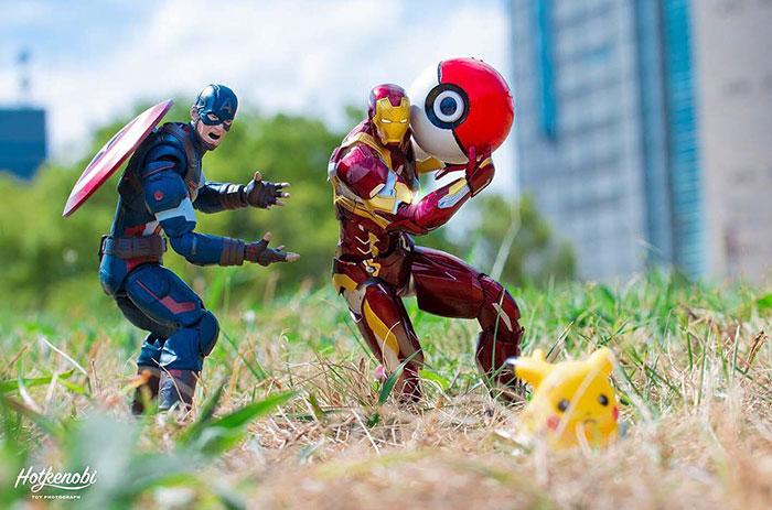 Supereroi adusi la viata, in ipostaze haioase - Poza 22
