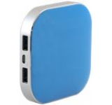 Acumulator extern Panasonic Alpha, 9000 mAh, 2x USB, Universal (Albastru)