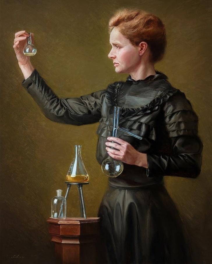 Creatii ale pictorilor amatori demne de a fi expuse in marile muzee - Poza 1