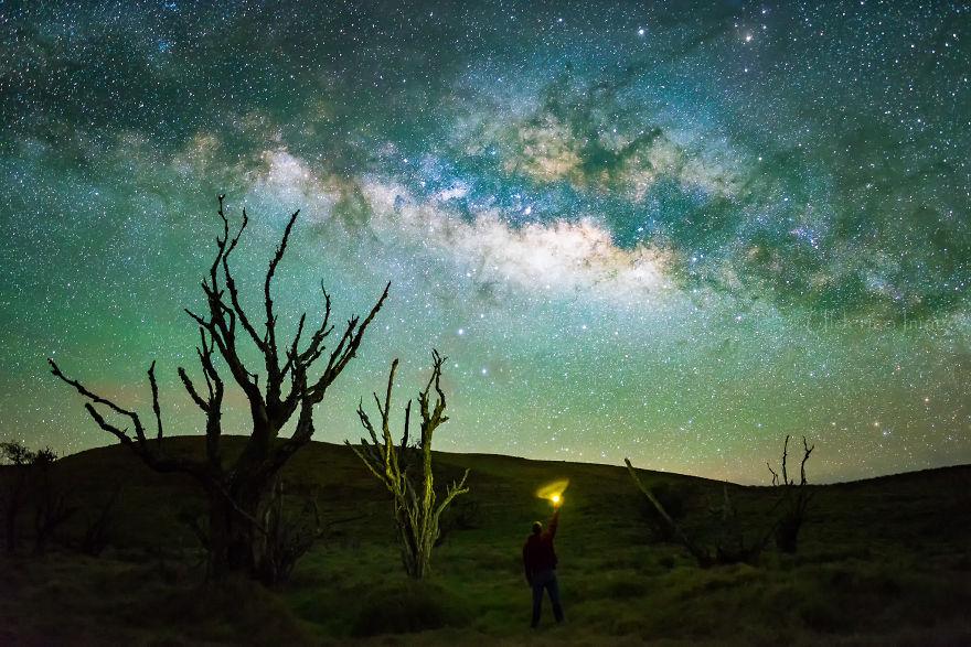 Lumina noptii: Un dans al Caii Lactee, in miezul verii - Poza 6