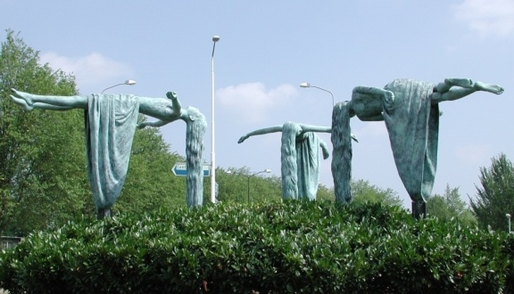 Sculpturi uimitoare care sfideaza legile fizicii - Poza 7