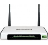 Router Wireless TP-LINK TL-WR1042ND, 300 Mbps, Gigabit, 1 x USB 2.0, Antene detasabile 3dBi