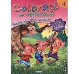 Colorati cu abtibilduri 4 - Imagini din povesti